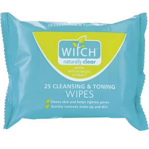 Witch Naturally Clear Cleansing & Toning Wipes