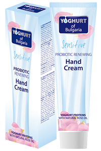 Yoghurt Of Bulgaria Sensitive Probiotikus Megújító Kézkrém