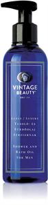 Vintage Beauty Luxus Tusoló- és Fürdőolaj Férfiaknak
