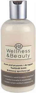Wellness&Beauty Tusfürdő Vanília Kivonattal és Szezámolajjal