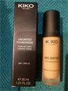 Kiko Unlimited Foundation SPF15 - Neutral Gold 100
