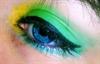 Kék a zöldben :)