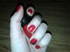 Piros fekete kaviárral