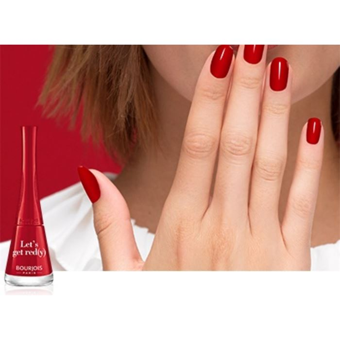 Bourjois 1 Seconde Nail Polish - Lets' get red(y)
