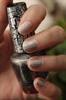 Silver shatter-bubble bath körmök