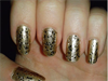 sequined gold