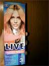 Schwarzkopf Live Pastel Spray Candy Cotton