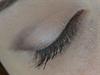 V-vonal hangsúlyos barna füstös szem