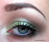 Green smokey eyes~