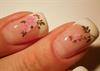 Rózsás - pillangós matricás