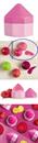*KERESEM!* TBS The Body Shop Lip Juicer Ajakápoló - Málna, Cékla, Gyömbér (halvány rózsaszín)
