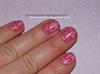 Rózsaszínű alapon pink nyomdázás