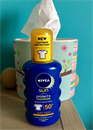 2500 Ft ~ Nivea Sun Protect & Moisture Sun Spray 50