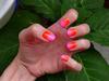 Színátmenetes: narancssárga-rózsaszín