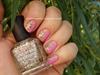 Ragyogó rózsaszín körömlakkozás