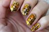 Sárga-barna virágok