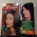 Visage Color Hajfesték FEKETE + Garnier Color Naturals