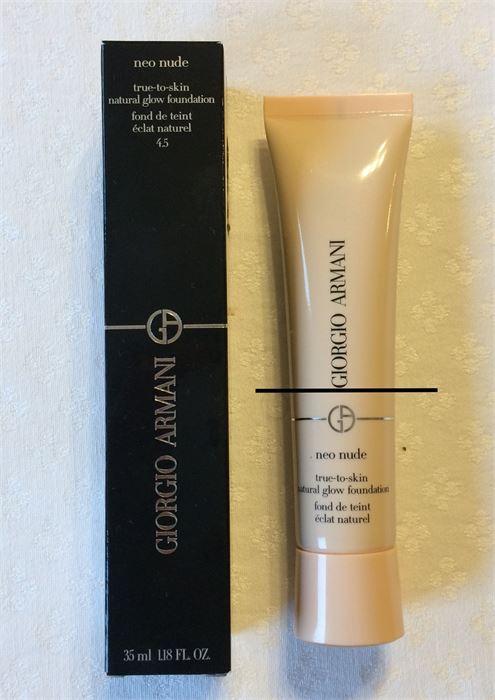 Giorgio Armani Neo nude True- skin natural glow foundation 35 ml #8.75 BOXED   eBay