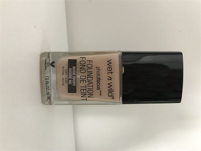 Wet n Wild Photo Focus Foundation (Nude Ivory)  Review