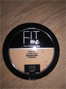 Maybelline Fit Me Matte + Poreless Powder 115 Ivory árnyalatban