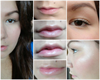 Gradient lips~5 perces smink