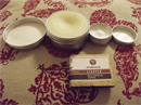 Manna Organikus Ghánai Sheavaj+Vulkáni kőzetlen szűrt sheavaj+Ében arctisztító szappan
