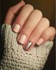 Little beige gel nails