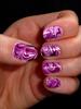 Márványos: lila, bordó