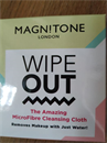 2000.- Magnitone London WipeOut! The Amazing MicroFibre Cleansing Cloth