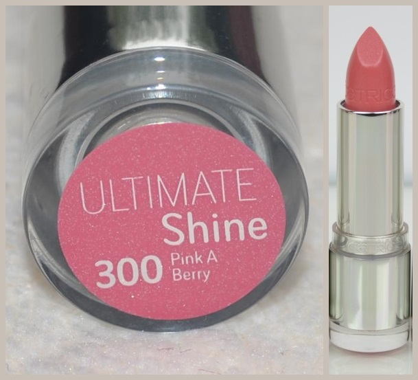 Catrice Ultimate Shine Gel Lip Colour Ajakrúzs PINK A BERRY 300
