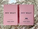 Giorgio Armani My Way Intense EDP + My Way EDP gyári illatminta