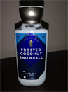 Bath & Body Works Frosted Coconut Snowball Body Lotion