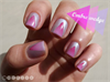 Ombre wedge