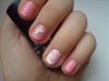 Rózsaszín-fehér csajos köröm:)