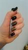 Fekete-arany leopárd köröm