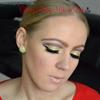 Glittery Holiday Makeup