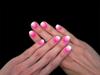 Színátmenetes: fehér-rózsaszín