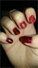 piros fekete mintás