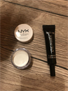 IsaDora Eye Primer+nyx eyeshadow base