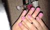 Rózsaszín-fehér csíkos