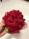 The Body Shop Bath Lily NAGY piros fürdőpamacs / fürdőrózsa