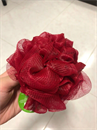 The Body Shop Bath Lily piros furdopamacs / furdorozsa
