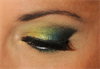 Arany zöld csillogás