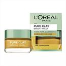 *KERESEM!* L'Oreal Paris Pure Clay Bright Mask (sárga)