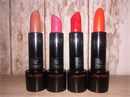 Shiseido Rouge Rouge BR322, RD311, OR417, RD312 árnyalatokban