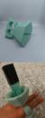 ebay Körömlakk Tartó/Körömlakkozást segítő szilikon tartó - világoskék/halvány türkiz/mentazöld 🎁 AJÁNDÉK 🎁