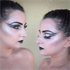 Black soul fantasy makeup