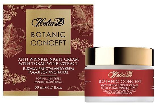 Eladó: Helia-D Botanic Concept Éjszakai Ránctalanító Krém..