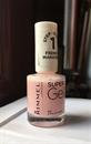 Rimmel Super Gel - 091 English rose körömlakk, francia manikűrhöz is