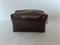 Barna neszeszer táska, mérete: 14 x 8 x 7 cm